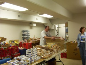 We are regularly participate at the Morrissett Food Pantry.